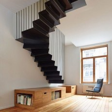 The Most Popular Staircase Design This Year For Interior Design Your Home25