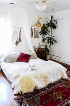 Awesome Bohemian Bedroom Tapestry Decorating Ideas33