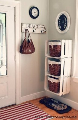 Awesome Shoe Storage Diy Projects For Small Spaces Ideas24