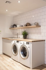 Beautiful Ideas For Tiny Laundry Spaces07