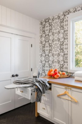 Beautiful Ideas For Tiny Laundry Spaces13