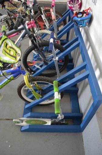 Creative Diy Bike Storage Racks15