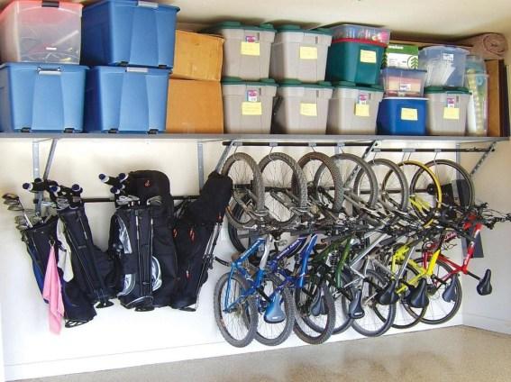 Creative Diy Bike Storage Racks33