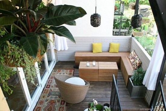 Decoration Of Balconies In Apartments That Inspire People07