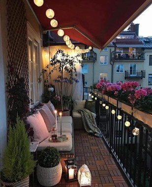 Decoration Of Balconies In Apartments That Inspire People16