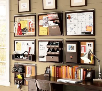 Diy Awesome Home Office Organizing Ideas17