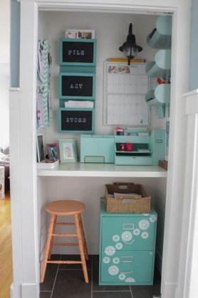 Diy Awesome Home Office Organizing Ideas35