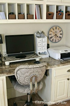 Diy Awesome Home Office Organizing Ideas46