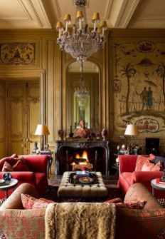 Extraordinary French Country Living Room Decor Ideas26