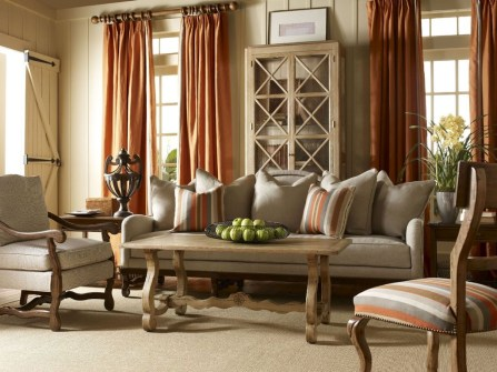 Extraordinary French Country Living Room Decor Ideas27