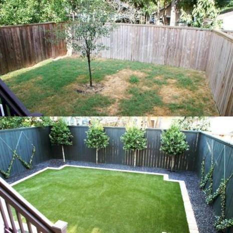 Gorgeous Small Backyard Landscaping Ideas41