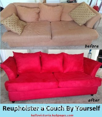 Luxury How To Reupholster Almost Anything06