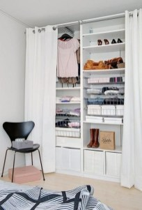 The Best Small Wardrobe Ideas For Your Apartment11
