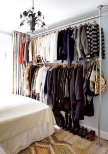 The Best Small Wardrobe Ideas For Your Apartment14