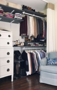 The Best Small Wardrobe Ideas For Your Apartment21