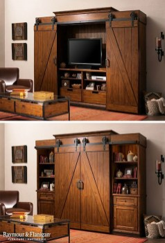 Top Fantastic Way To Hide Your Tv Diy Projects02