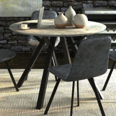 Awesome Granite Table For Dinning Room33