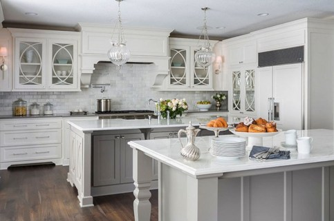 Best Double Kitchen Design Ideas For Cooking Easier39