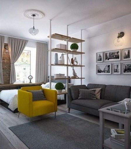 Comfy Studio Living Room Apartment01