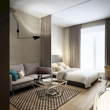 Comfy Studio Living Room Apartment35