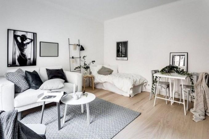 Comfy Studio Living Room Apartment37
