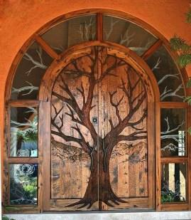 Gorgeous Wooden Door Ideas12