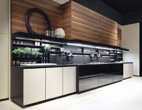 Lovely Aluminium Kitchen Decoration01