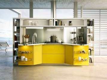 Lovely Aluminium Kitchen Decoration37