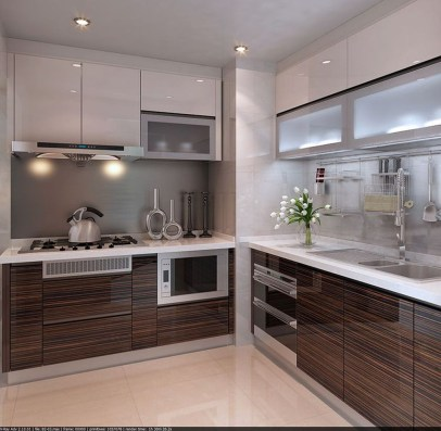 Lovely Aluminium Kitchen Decoration40