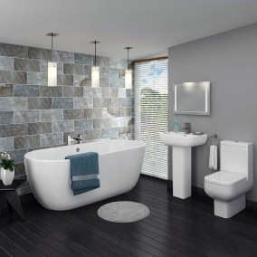 Modern Jacuzzi Bathroom Ideas20