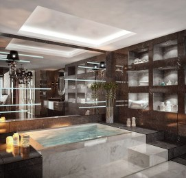 Modern Jacuzzi Bathroom Ideas30