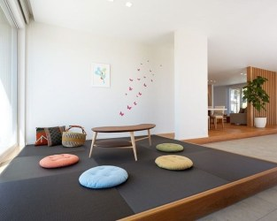 Modern Japanese Living Room Decor03
