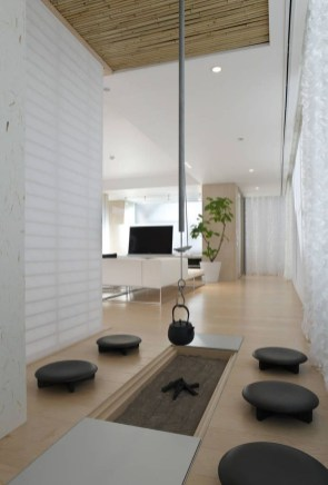 Modern Japanese Living Room Decor05