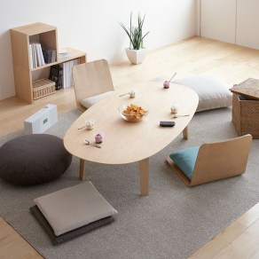 Modern Japanese Living Room Decor10