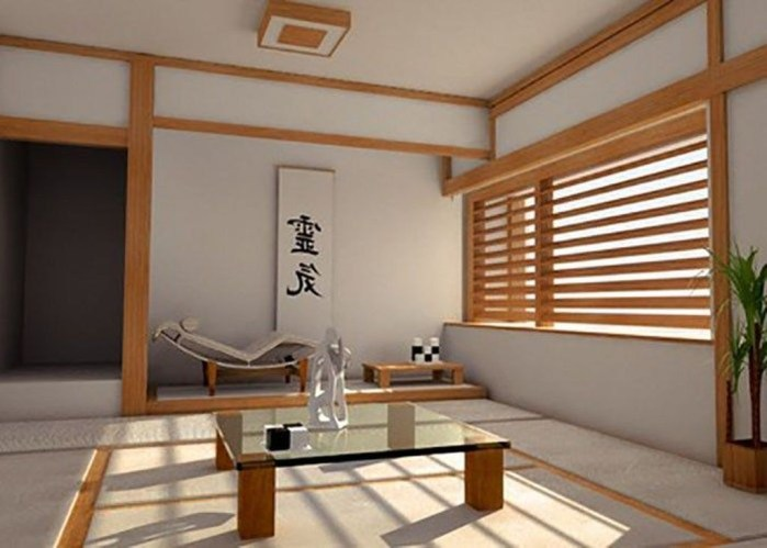 Modern Japanese Living Room Decor12