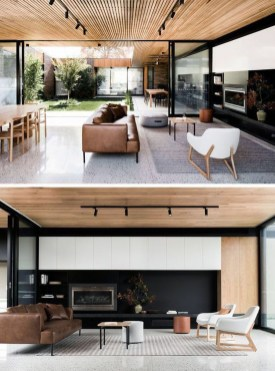 Modern Japanese Living Room Decor30