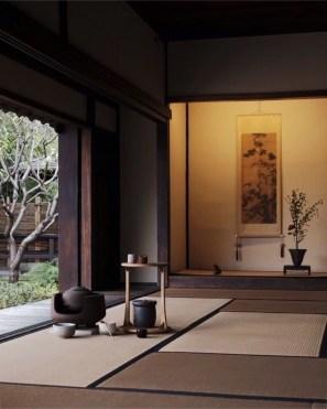 Modern Japanese Living Room Decor31