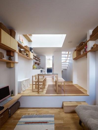Modern Japanese Living Room Decor32
