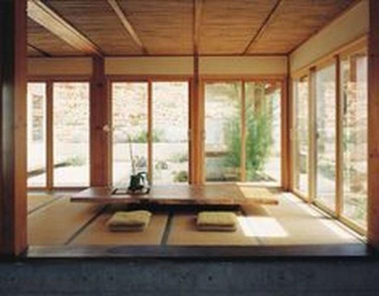 Modern Japanese Living Room Decor38