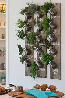 Simple Indoor Herb Garden Ideas For More Healthy Home Air04