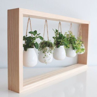 Simple Indoor Herb Garden Ideas For More Healthy Home Air07