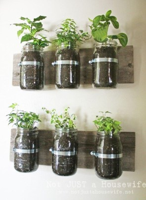 Simple Indoor Herb Garden Ideas For More Healthy Home Air16