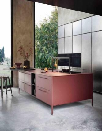Simple Metal Kitchen Design26