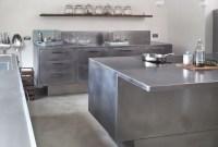 Simple Metal Kitchen Design36