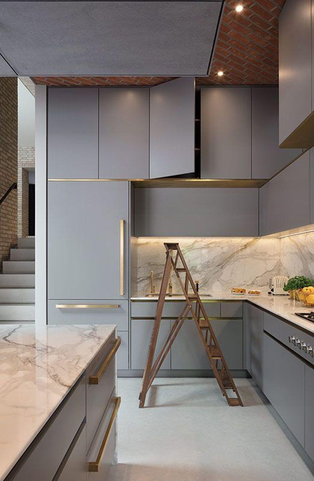 Simple Metal Kitchen Design49