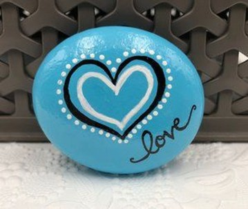 Simple Painted Rock Ideas For Garden27
