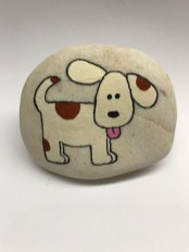 Simple Painted Rock Ideas For Garden42