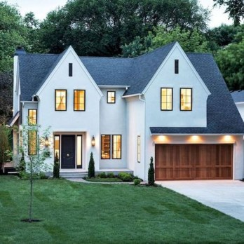 Top Modern Farmhouse Exterior Design Ideas10