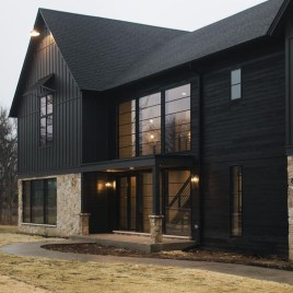 Top Modern Farmhouse Exterior Design Ideas21