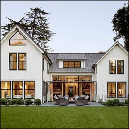 Top Modern Farmhouse Exterior Design Ideas24